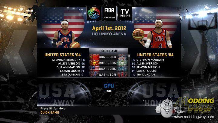Links    FIBA 2K11 Mod Trailer  NBA 2K12   The New Look Lakers  Tags