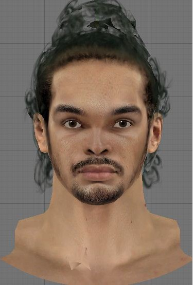 Joakim Noah Cyber Face by wilson27. To install patches, All you need