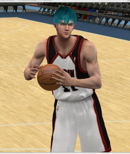 Download PC NBA 2K12 Kuroko no Basuke Cyberface Patch