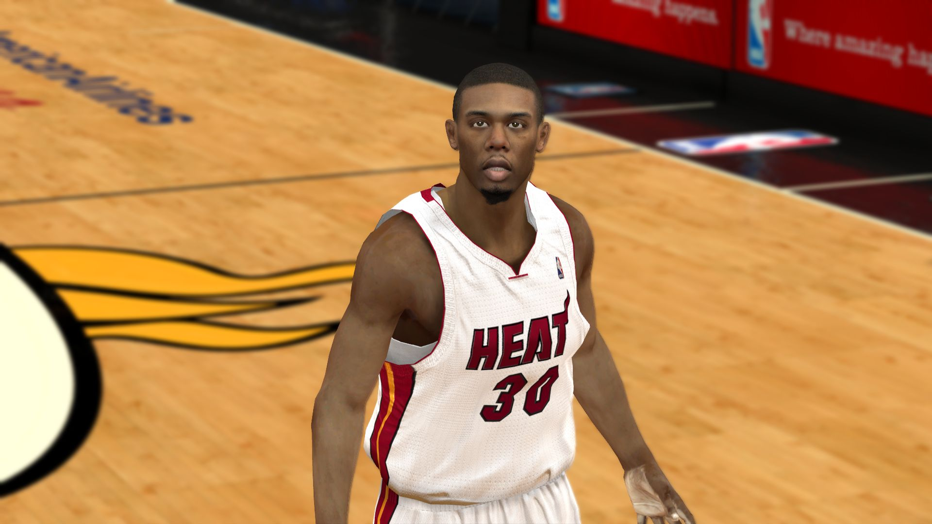 NBA 2K12 Norris Cole Cyberface Patches