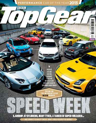 BBC Top Gear UK August 2013