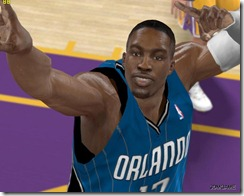 Lovely Orlando Magic in NBA 2K10
