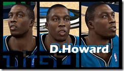Dwight Howard Cyberface Patches for NBA 2K10