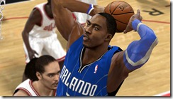 Dwight Howard with Sleeve Patches for NBA 2K10