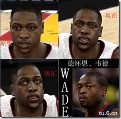 Ham's Cyberface Patches for NBA 2K10