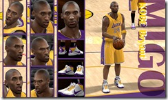 Kobe Bryant Updates V1 for NBA 2K10