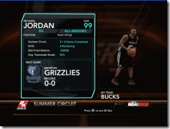 Michael Jordan on My Player Mode Patch for NBA 2K10