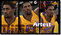 Ron Artest Cyberface Patches for NBA 2K10
