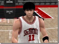 Rukawa Kaede Modified Patches for NBA 2K10
