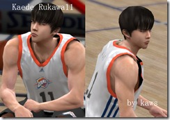 Rukawa Kaede Patches for NBA 2K10