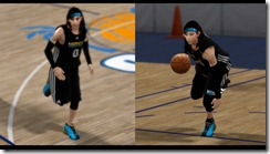 Female Athlete Patches for NBA 2K10
