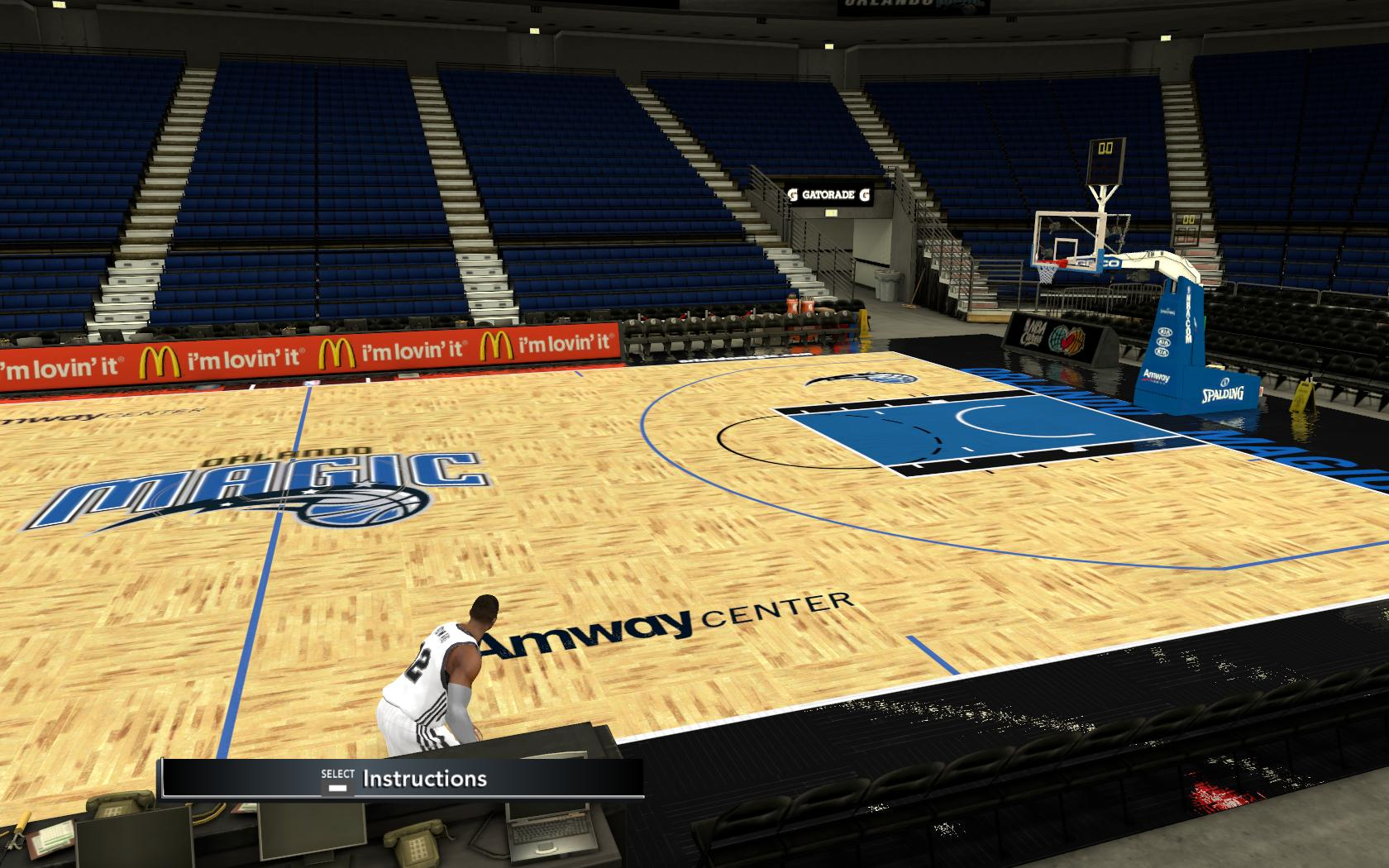 30+ Courts & Dornas Patches for NBA 2K11
