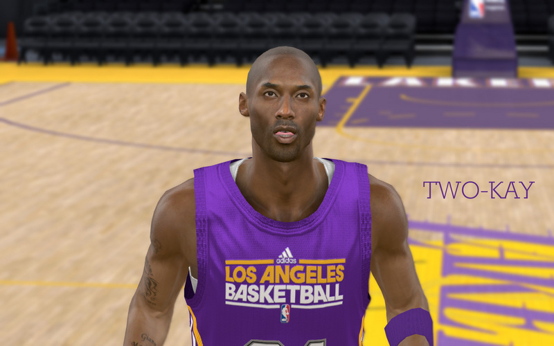 Kobe Bryant Cyberface Patches for NBA 2K11