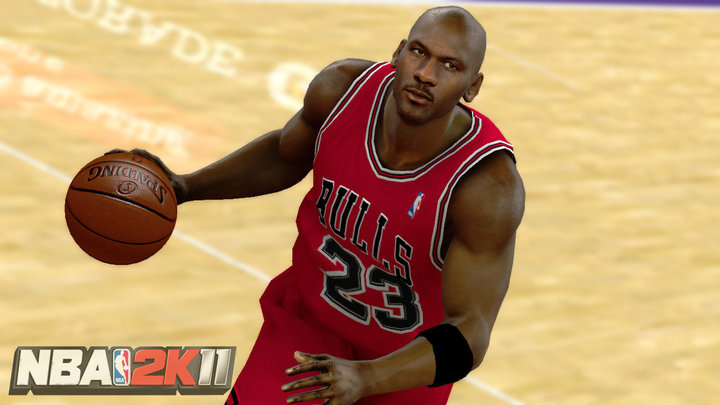 Michael Jordan in NBA 2K11