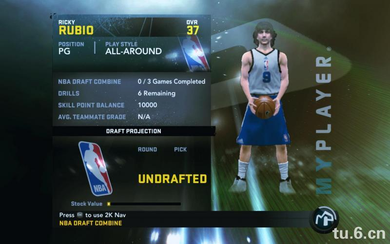 Ricky Rubio My Player Patches for NBA 2K11