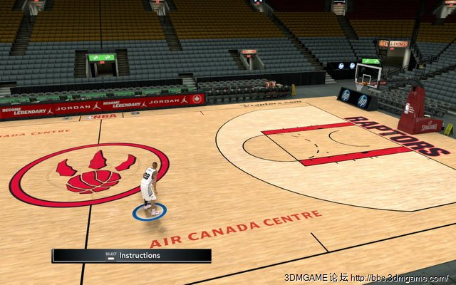 Court Logos Patches for NBA 2K11