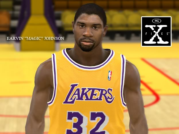 Michael Jordan &amp; Magic Johnson Patches for NBA 2K11