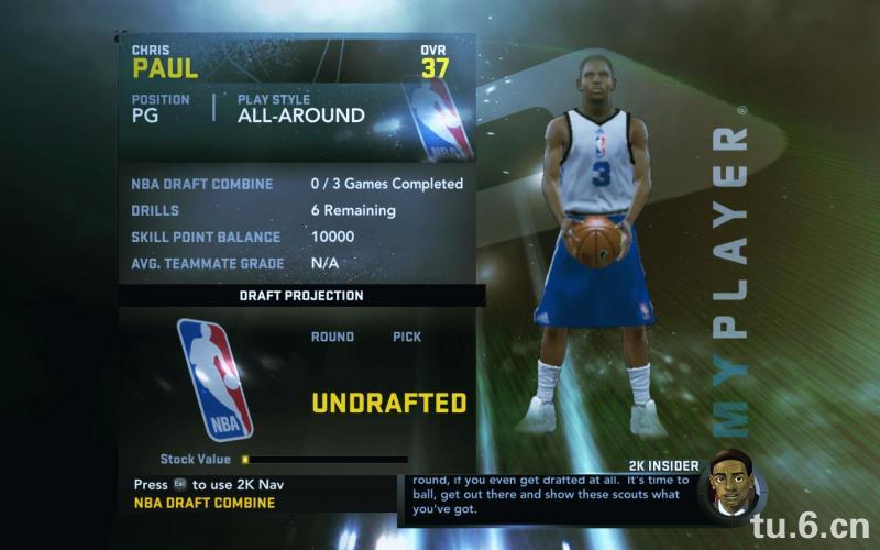 Chris Paul My Player Patches for NBA 2K11