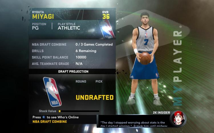 Ryota Miyagi My Player Patches for NBA 2K11