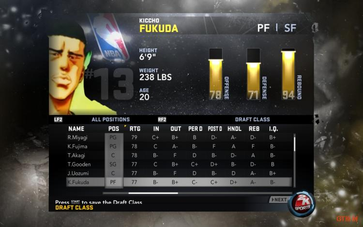 SlamDunk Association Draft Patches for NBA 2K11