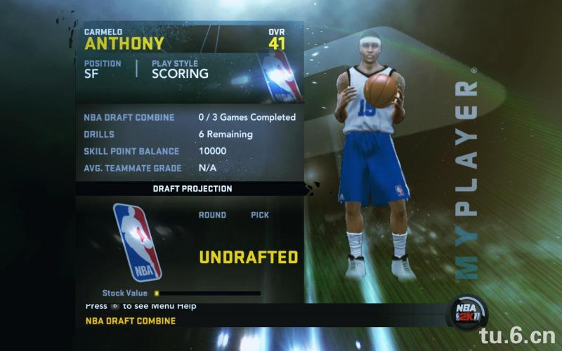 Carmelo Anthony My Player Patches for NBA 2K11
